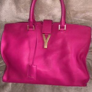 Saint Laurent YSL pink purse